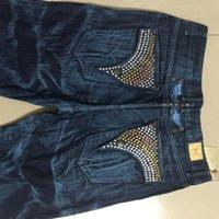 Nuevos jeans de moda rectos para hombre de marca famosa Tamaño: 30-42 Jeans Denim Designer Motorista para hombre para hombre Pantalones Robin Men Long Robin Pants R Amfen