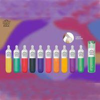 Mais novo Bang Max Descartável E-Cigarros 3500 Puffs 8.0ml Capacidade 10 Cores Disponíveis Silicone Líquido Com Caixa de Presente Vs XXL Puff Bar
