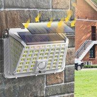 Solar Lamps Powered Light PIR Motion Sensor Street IP65 Waterproof Outdoor Wall Lamp Sunlight For Garden Decoratio