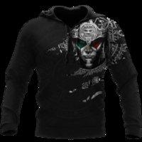 Erkek Hoodies Tişörtü AZTEC Savaşçı Dövme 3D Ceket Erkekler / Kadınlar Harajuku Hoodie Unisex Casual Streetwear Kazak Kazak Sudadera H