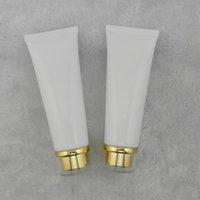 100ml 50 adet Kozmetik Ambalaj Tüpü / Beyaz Plastik Şişeler / Nemlendiriciler El Kremi Akrilik Vida Kap Boş Şişeler