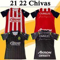 21 22 Chivas I.Brizuela Mens Soccer Jerseys A.VEGA G.SEPULVEDA J.ANGULO F.Beltran L.OLIVAS J.Molina M.Ponce Uniformes de chemise de football