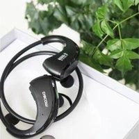 방수 헤드폰 이어폰 무선 핸즈프리 넥 밴드 스테레오 헤드셋 블루투스 방어구 IPX5 전화 전자 제품 LFQAJ 방수 헤드폰 이어폰 용 다투 스포츠