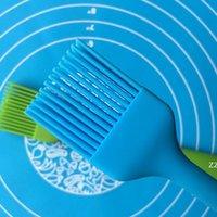 Pasta Pişirme BARBEKÜ Izgara Fırça Şeker Renk Silikon Fırçalar Kek Ekmek Tereyağı Yağ Kremi Isıya Geçirmez Pişirme Basting Araçları HWD9118