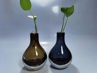 Vasen 15x9cm 850g Super hochwertiges Glas für Blumen Home Decoration echtes Schießen Aktuelle Objekte sind schöner