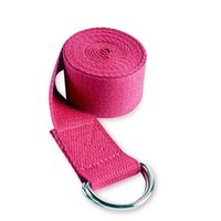 Bandes de résistance Yoga Étirer la courroie de la courroie Aides Sangle de sport de corde poly-coton