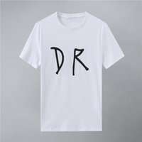 2021Fashion Herren Designer T Shirts Sommer T-shirt Krandruckdesigner T-shirt Hip Hop Luxuriöse Männer Frauen Kurzarm T-Shirts Größe W22