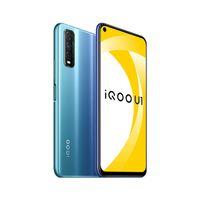 "Original vivo IQOO U1 4G Mobiltelefon 6GB 8 GB RAM 128 GB ROM Snapdragon 720g Octa Core Android 6.53 ""48mp Fingerabdruck-ID Gesichtswege-Handy"
