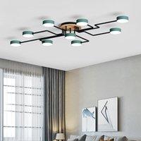 Modern Kalınlaşmış Meşe Kurulu LED Yaratıcı Örümcek Tasarım Tavan Lambası Oturma Odası Yatak Odası Stuy Çocuk Odası Otel Işıkları