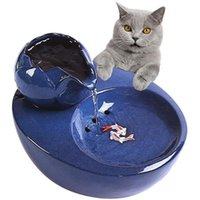 Pet Automatic Water Feeder per Cat Dog Dispenser Contenitore Contenitore Bere Bowl Smart Circulating Water Feeder Fountain Basin 1.5l