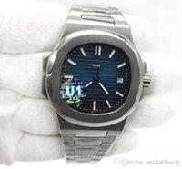 Лучшие горячие продажи мужские часы синий циферблат прозрачный обратно U1 заводские движения выгравированные автоматические механические из нержавеющей стали мужские наручные часы