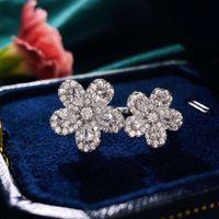 HBP Luxus Neue S925 Silber Japanisch Koreanische Schmuck Net Rot Blume Mode Vielseitige offene Ring Hand Ornament