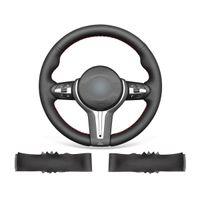 DIY Custom Hand Stitched Non-slip Durable Leather Steering Wheel Cover For BMW M2 F87 M3 F80 M4 F82 F83 M5 F10 M6