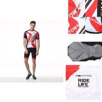 Sets de carreras Xintown Men's Cycling Jersey Set Quick-Seck Shorts Shorts Trajes de engranajes de bicicleta1