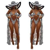 Swimsuit Summer Split Swimsuit 1620 Beach Suit Tre pezzi Stampa Bikini Sexy perizoma Push-up Reggiseno BACKING COVER-UPS