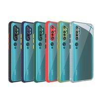 Arylic Silikon Telefon Kılıfı Arylic Silikon Telefon Kılıfı için Xiaomi 10 CC9 Redmi Not 8 9 Pro Max 9 S 10 için Darbeye Yumuşak Kapak