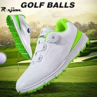 Zapatillas de golf R. Xjian Caballeros Zapatos Zapatillas de deporte ligeras al aire libre Ers Hombres Entrenamiento cómodo 0908