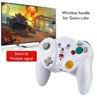 Game Controller Joysticks 2.4G Controller Gamepad Wireless Vibration Joystick Joypad per cubo / con accessori ricevitore