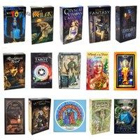 Recién llegados 15 estilos Tarots Witch Rider Smith Waite ShadowsCapes Tarjetas de cubierta de Tarot Wild Tarjetas de juego con caja colorida Versión en inglés