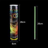 20 cm Çok Renkli Glow Sopa Bilezik Kolye Neon Parti Yanıp Sönen Işık Değnek Yenilik Oyuncak Vokal Konser LED Flash Sticks