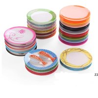 Pan Dinner plate Food Sushi Melamine Dish Rotary Sushi Plate Round Colorful Conveyor Belt Sushi Serving Plates Dinnerware by sea HWD11048