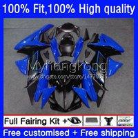 Body Blue black Injection For SUZUKI GSXR600 GSXR 600 750 CC 600CC 750CC K11 23No.100 GSXR750 2011 2012 2013 2014 15 16 17 GSXR-600 11 12 13 14 2015 2016 2017 OEM Fairing
