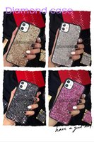 Bling Crystal Diamond phone case for iphone 12 pro max Fashion cases with Luxury Brand designer gifts Beautiful shell cover iphone11 12Pro 11xs XSmax xr 8plus 8 7plus