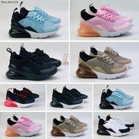 Max 270 27c Chaussures Kids Rainbow Be True Ragazzi Ragazze Scarpe da corsa Moda Grandi bambini infantili Sneakers senza lacci Eur 28-35