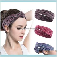 Sweatband Safety Athletic Outdoor As & Outdoorsworkout Wide Yoga Headbands Sweet Band Sports Fitness Elastic Hair Bands For Women Drop Deliv