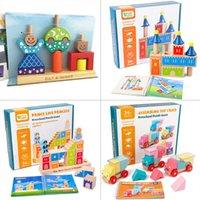 Tag und Nacht Baustein Bunny Magic Box Lkw Loading Music Balance Meister Kinderbrett Spiel Spielzeug