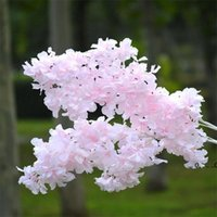 Newsilk Gypsophila Flores Artificiais para Decoração Home Plástico Haste Noiva Bouquet de Casamento Mariage Flor De Cereja Flor Falsa DIY EWE5159