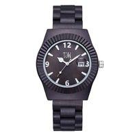 Relógios de pulso Custo relógio de mão de bambu para homens clássico fresco de madeira masculino simples relógio de cor de madeira relógios de pulso de quartzo
