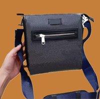 Borsa a tracolla di Briefcase Briefcase Borsa da uomo Messenger Bancoscenico Bancoscenico Crossbody di alta qualità con scatola