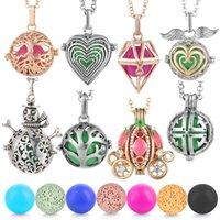 Креативная медная клетка кулон ожерелье лучше всего продавать изысканные ювелирные изделия беременных женщин гармония мяч