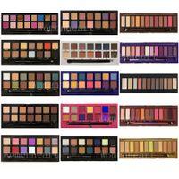 En stock Maquillage Makep Fashiond Perfect Ofshadow Rose Noir Jaune Vert Vert Purple Paulette Palette 14charmming Couleur Palette à ombre à paupières