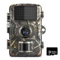 12MP1080P Wildlife-Jagd-Trail-Spiel-Kamera-Bewegung aktivierte Sicherheitskamera IP66 mit 16 GB / 32GB TF-Karten-Jagd-Scouting