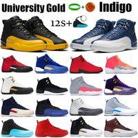 12 12s Mens Basketball Shoes 2019 New Michigan Wntr Gym Red NYC OVO Lana XII Designer Shoes Sport Sneakers Scarpe da ginnastica Taglia 40-47