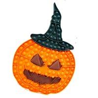 Fidget Toys Halloween Theme Bubble Popping dyni Hallowmas Image Sensory Push Finger Party Prezent Dzieci