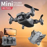 KY905 미니 드론 4K HD 듀얼 카메라 비주얼 위치 1080P 와이파이 FPV 무인 항공기 높이 보존 RC Quadcopter 원격 제어 장난감