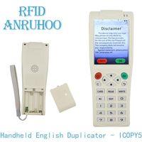 Accès Control Card Reader Handheld RFID Duplicateur NFC Smart Chipcryption Cryptage Décodage 125kHz T5577 Écrivain Badge Key 13.56mHz Uid Clone Copi