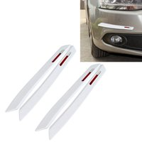 wtyd for stickers 2 Pairs Universal Car Body Rear Bumper Protector Trim Cover Protective Strip Car Body Protective Strip Car Accessories P