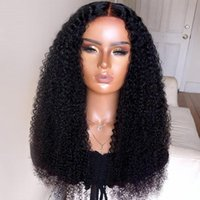 Synthetic Wigs Natural Hairline Jet Black Color Soft Loose Wavy Glueless Lace Front Wig With Baby Hair Daily Heat Temperature