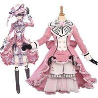 Anime Black Butler Ciel Phantomhive Coplay Loita Victoria vestido traje Halloween Festa Terno G0925