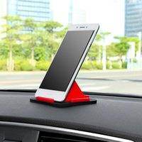 Anti-slip Mats Car Decoration Pyramid Pad Phone Holder Silicone Non-slip Mat Dashboard For Cell 85x85x49.5MM