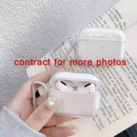 Para Apple Airpods Pro 2 Airpods Pro AirPhone Glossy Snap Case Cristal Invisível Invisível Ultra Fino Hard PC Cobertura Clear Proteja o Shell