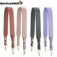 Bamader Einstellbare Taschenriemen Hohe Qualität Echtes Leder Frauen Schultergurt Mode Tasche Gurt in der Tasche Teile Zubehör NEU 210306