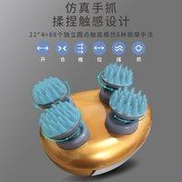 3D رئيس الكهربائية مدلك USB شحن فروة الرأس مدلك متعددة الوظائف catnipper