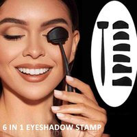 Eye Shadow 6 in 1 Creena in silicone Forme Eyeshadow Stamper Line Kit Facile da usare