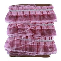 Andere Wohnkultur 1 stücke ländliche spitze vorhang schöne textil dekoration falten