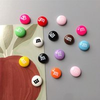 Set of 15 Colorful Candy Fridge Magnets Photo Wall Cute Souvenir Gifts Home Refrigerators Decor Magnetic Sticker Stationery Toy